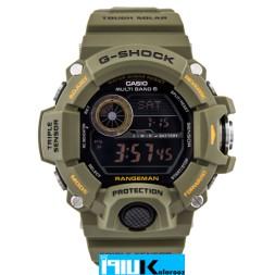 ساعت مچی مردانه کاسیو G-SHOCK RANGEMAN GW-9400-3DR