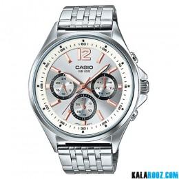 ساعت مچی مردانه کاسیو مدل MTP-E303D-7AV