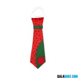 کراوات طرح هندوانه شب یلدا کد113
