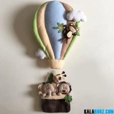 آویز نمدی بالن