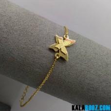 دستبند استیل پروانه ای
