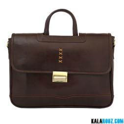 کیف اداری دو دسته چرمی LB425