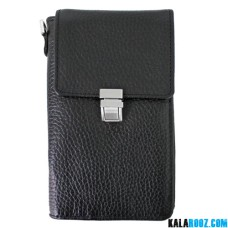 کیف پاسپورتی گردنی قفل دار چرمی WT232