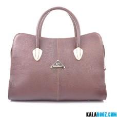 کیف دوشی زنانه چرمی 9491B