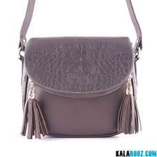 کیف دوشی زنانه چرمی 9856B