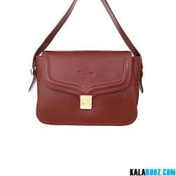 کیف دوشی زنانه چرمی 9889B