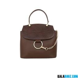 کیف دوشی زنانه چرمی 9901B