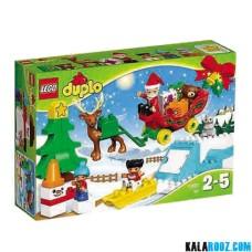 لگو مدل بابانوئل و تعطیلات زمستانی سری دوپلو (10837) Duplo
