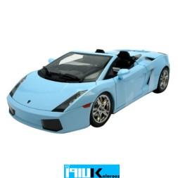 ماکت فلزی لامبورگینی گالاردو مدل 31136 // Lamborghini Gallardo Spyder Light Blue 1/18