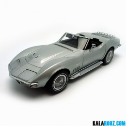 ماکت فلزی شورولت کروت Chevrolet Corvette 1969-71162 AutoArt Model Vehicle