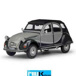 ماکت فلزی ماشین سیتروئن Citroen 2Cv Black and gray