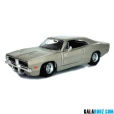 ماکت ماشین دوج چارجر Dodge Charger R/T 1969 // 31256