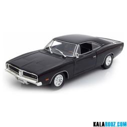 ماکت فلزی دوج چارجر Dodge Charger R/T 1969 // 31387