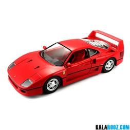 ماکت فلزی ماشین فراری مدل Ferrari F40 // 18-26016
