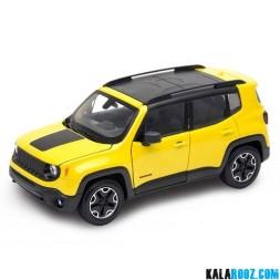 ماکت ماشین جیپ رنگید تریل هاوک Jeep Renegade Trailhawk // 24071