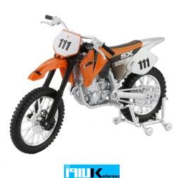 ماکت فلزی موتور تلر کی تی ام KTM 520 SX
