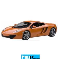 ماکت فلزی مکلارن نارنجی 76006// McLAREN 12C
