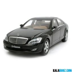 ماکت فلزی مرسدس بنز مدل  Mercedes Benz S500 SWB 2004 Black // 76177