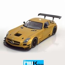 ماکت فلزی مرسدس بنز مدل Mercedes SLS AMG GT3 Street Gold 2011 // 151113106