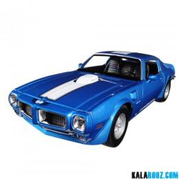 ماکت پونتیاک فایر برد ترنس ام مدل Pontiac Firebird Tans Am 1972 // 24075