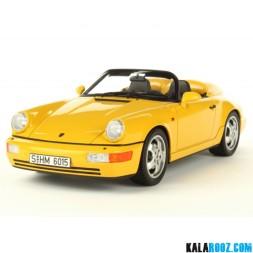 ماکت فلزی پورشه اسپایدر مدل Porsche 911 (964) Speedster // 300167