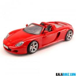 ماکت فلزی پورشه کررا مدل PORSCHE CARRERA GT RED