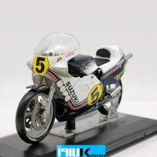 ماکت فلزی موتورسیکلت سوزوکی suzuki rg500  1:22