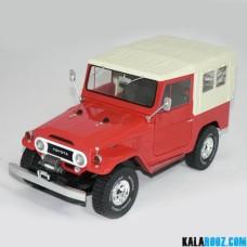 ماکت ماشین تویوتا مدل TOTOTA LAND CRUISER // 1800153