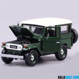 ماکت ماشین تویوتا مدل Toyota FJ40 1/24