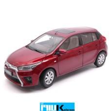 ماکت فلزی ماشین تویوتا یاریس مدل Toyota Yaris L 2014 // PD2317R